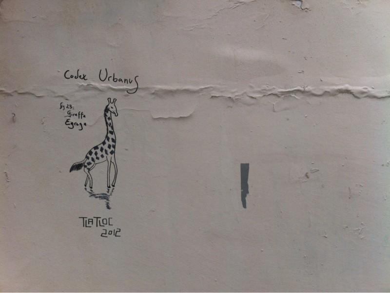 Giraffa Egrega by Tlatloc