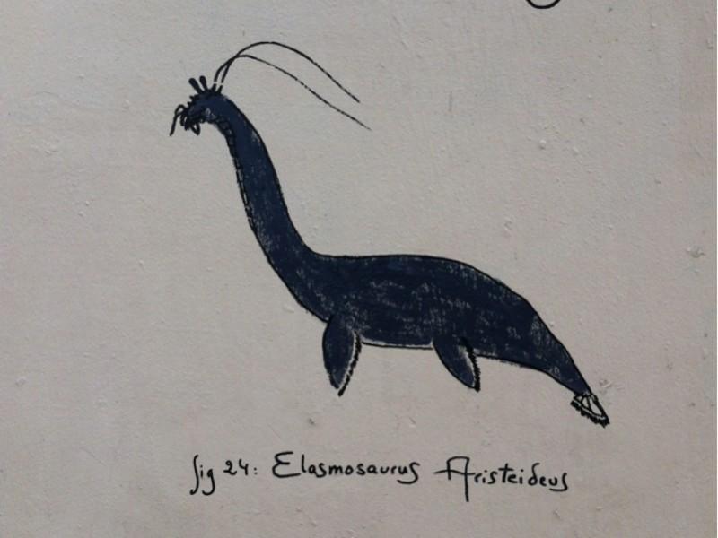 L'élasmosaure crevette de Tlatloc