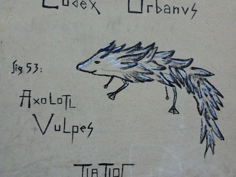 Axolotl Vulpes by Tlatloc
