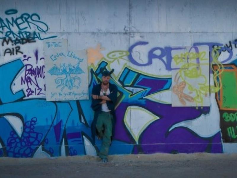 Black Rock City wall Street