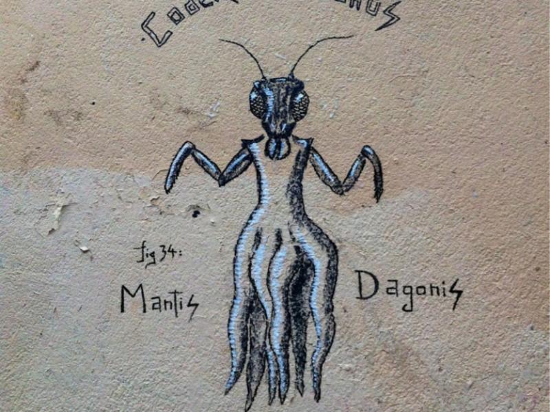 Mantis Dagonis by Tlatloc