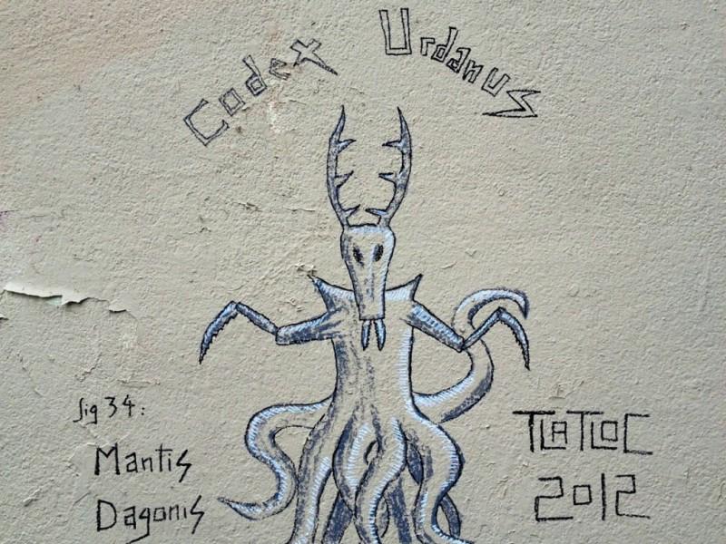 Mantis Dagonis, New Version by Tlatloc
