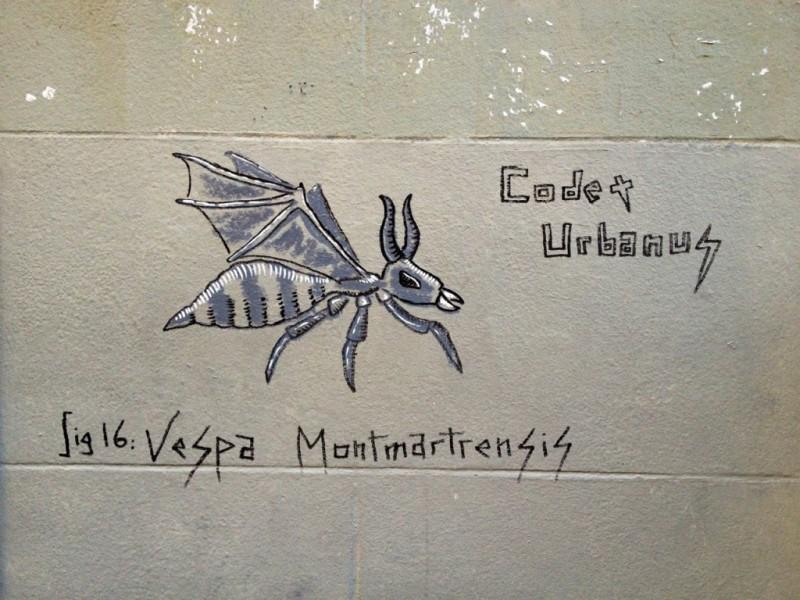 Vespa Montmartrensis