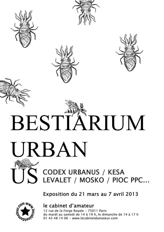 """Collective Show """"Bestiarium Urbanus"""""""