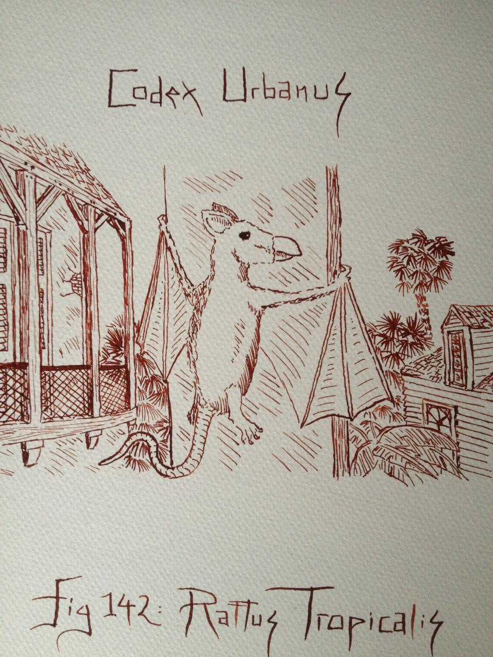 Illustrations pour Bestiarium Urbanus