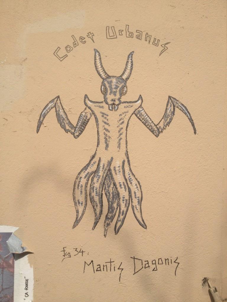 Mantis Dagonis