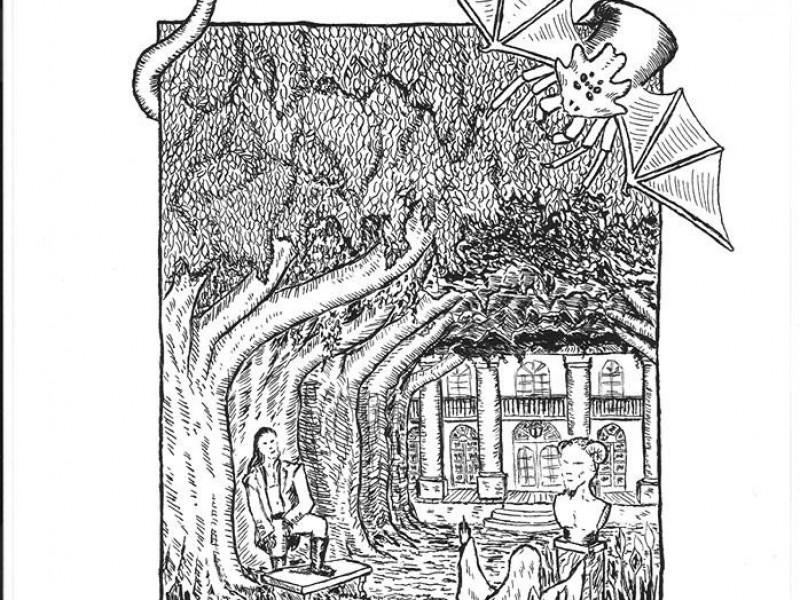 Plantation, Dessin pour «Vampires et Bayou» (Morgane Caussarieu)