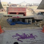 Work on the Playa : Vulpes Socialis for the Hospitality Pavilion