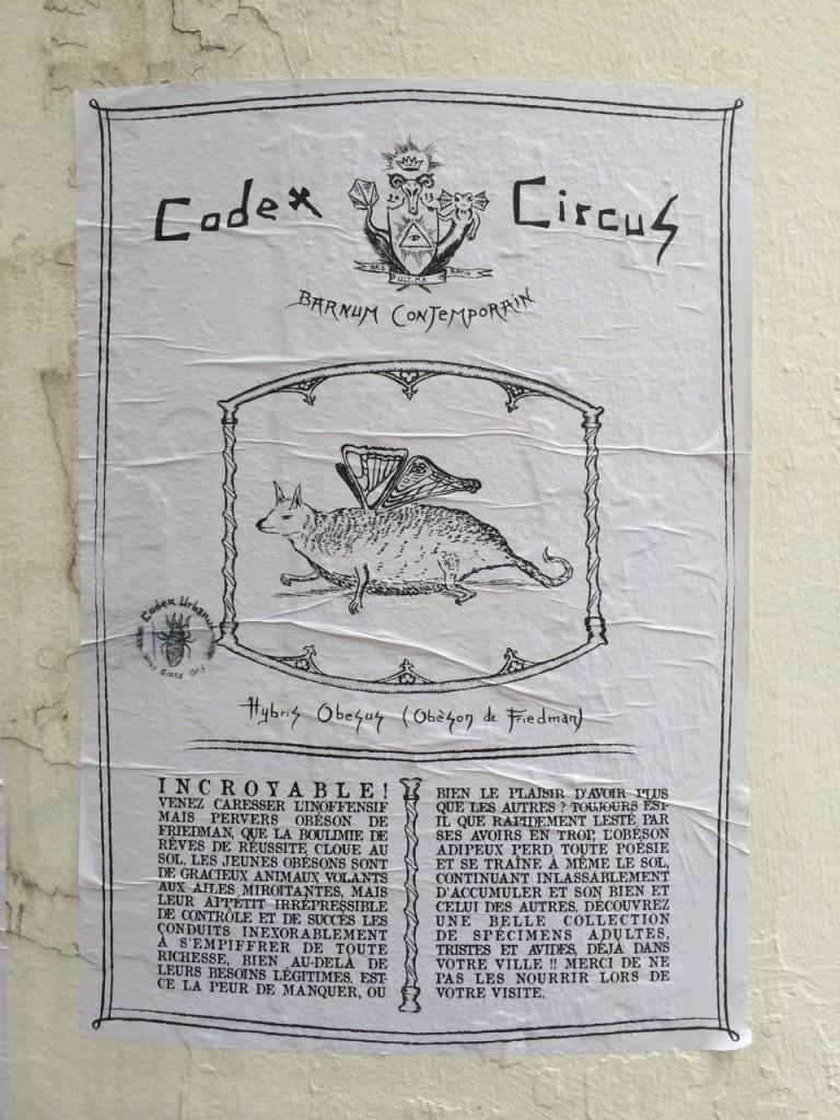 Codex Circus, Obeson de Friedman (Hybris Obesus)