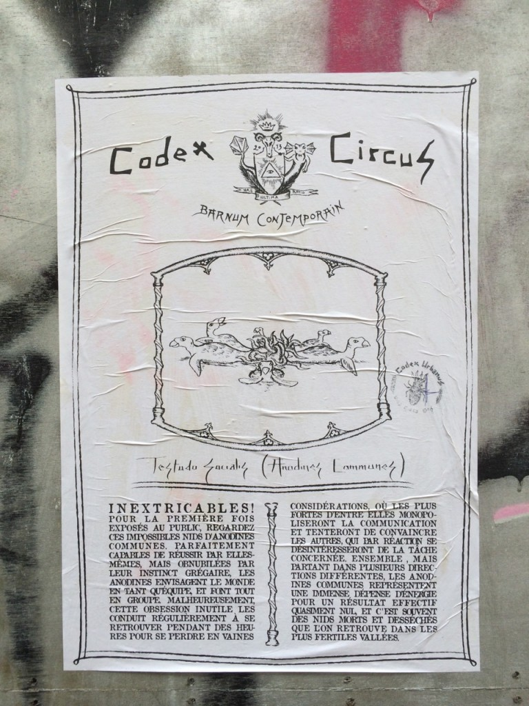 Codex Circus, Contemporary Barnum, Testudo Socialis