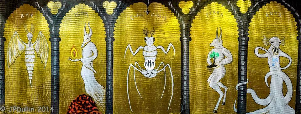 MMM, Fresque au Galion