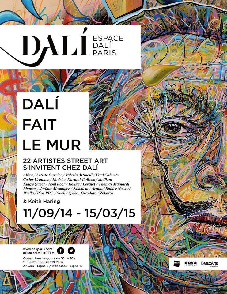 """Exposition Dali et le Street Art """"Dali fait le mur"""""""