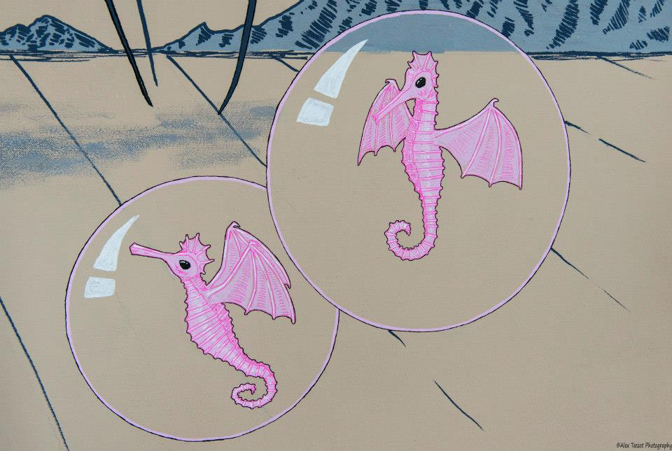 Flying Sea horses