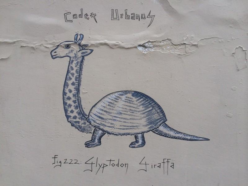 Glyptodon Giraffa